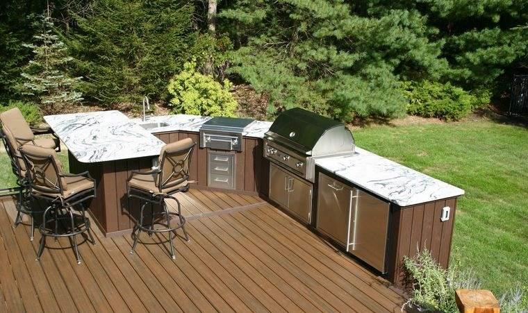 la cocina exterior original