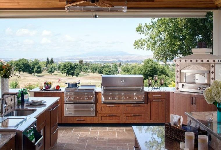 la cocina exterior tendencia