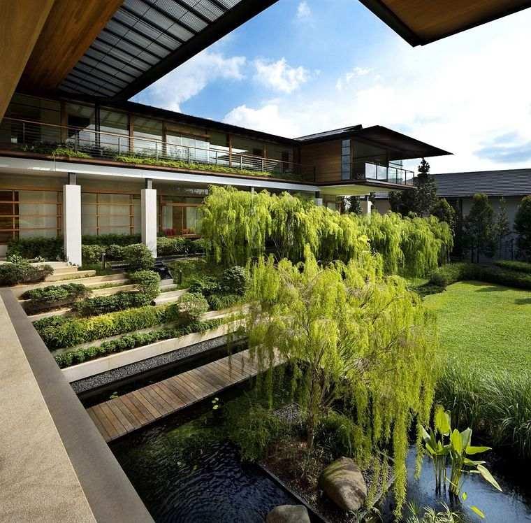 los jardines casa familiar singapur