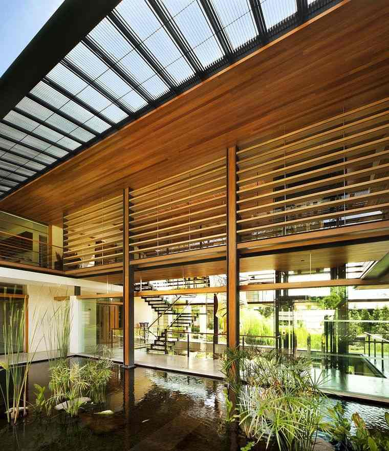 los jardines casa moderna singapur
