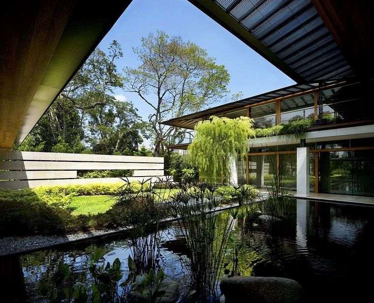 los jardines casa singapur