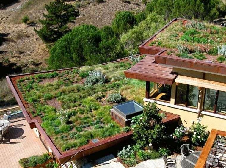los jardines maximiza el espacio