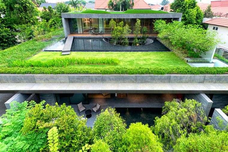 los jardines punto focal