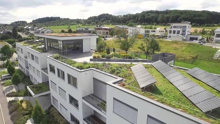 los jardines techos edificios