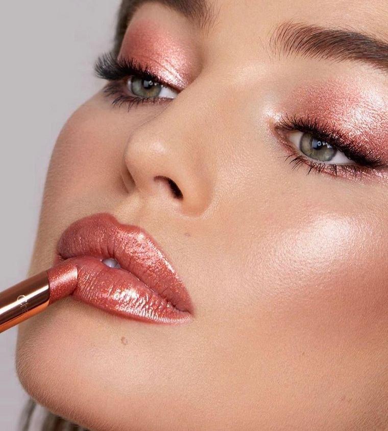 maquillaje nochevieja 2020-color-rosa-brillante