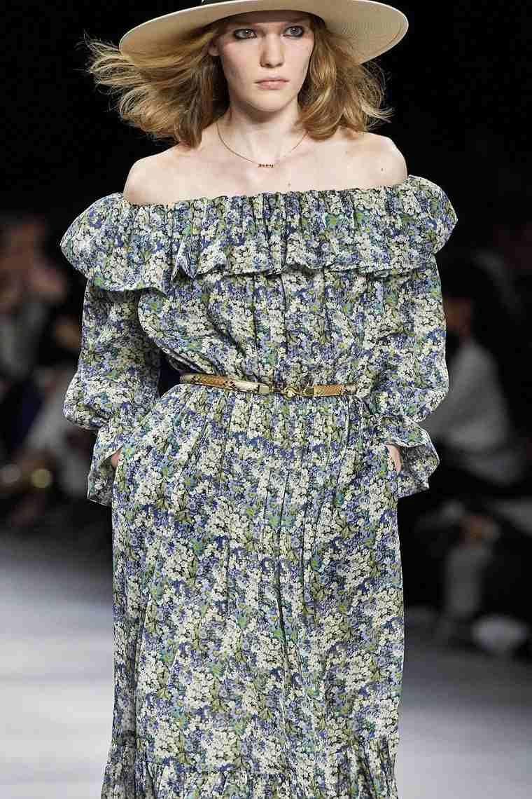 motivos-florales-vestido-Celine-2020