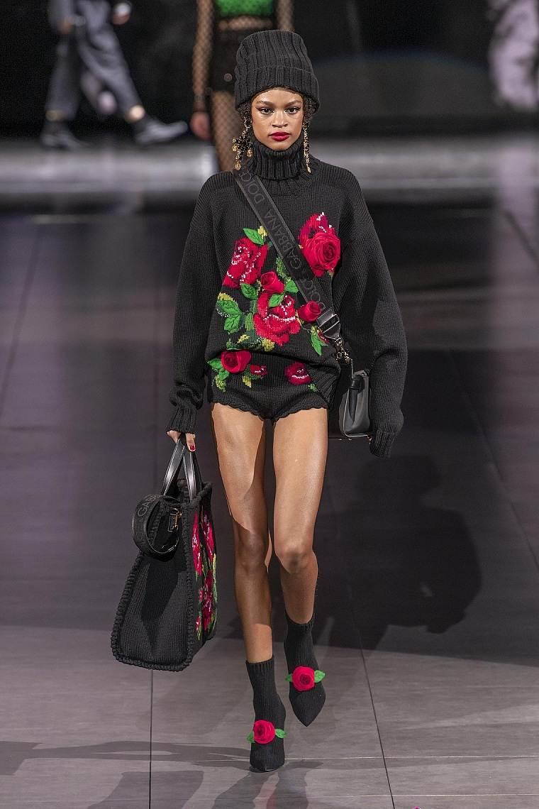 motivos-florales-vestido-Dolce&Gabbana-ideas