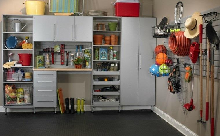 organizar garaje almacenamiento abierto cerrado