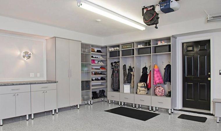 organizar garaje amplio