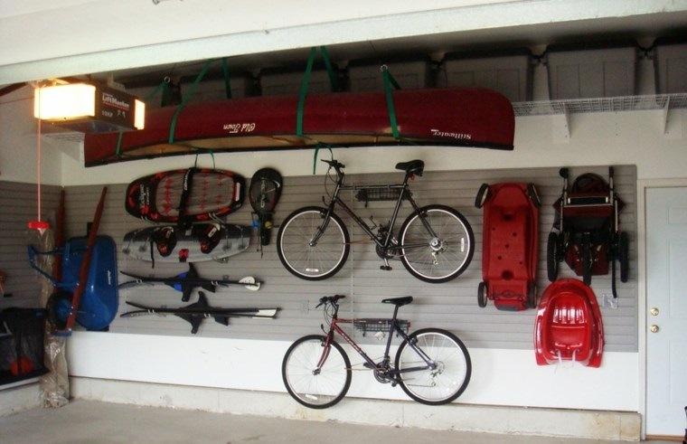 organizar garaje articulos deportivos