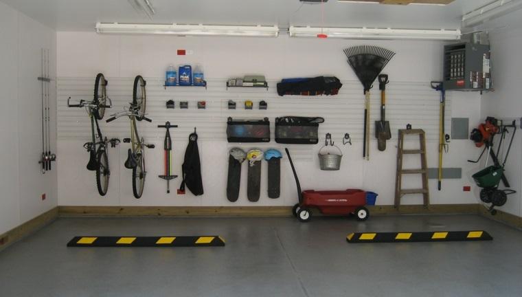 organizar garaje buen uso espacio