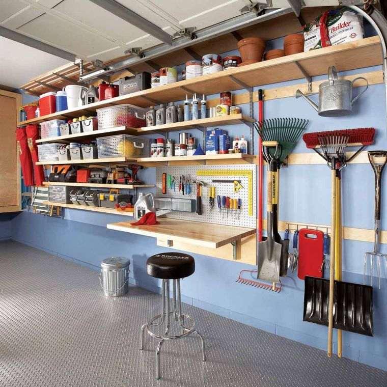 organizar garaje diseno interior