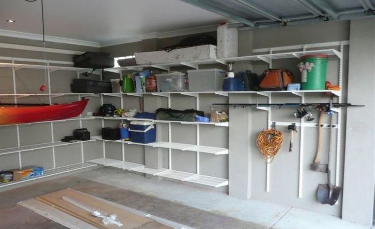 organizar garaje estantes