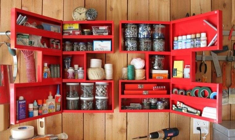 organizar garaje gabinete bricolaje
