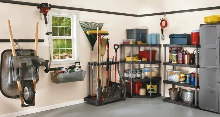 organizar garaje ingenioso