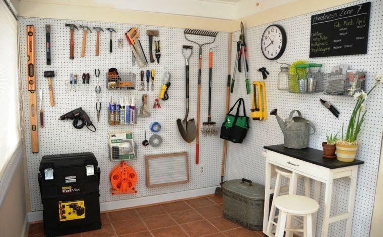 organizar garaje pequeño