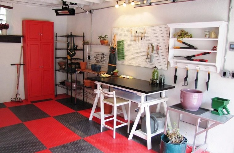 organizar garaje piso original