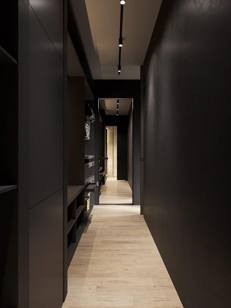 paredes-negras-pasillo-ideas