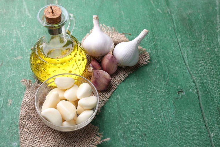 propiedades del ajo aceite