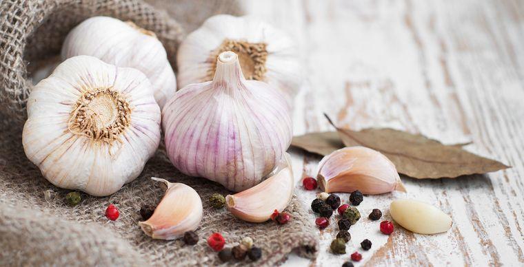 propiedades del ajo saludable