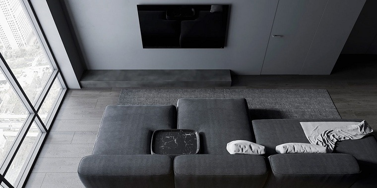 sala-estar-color-gris-estilo-moderno