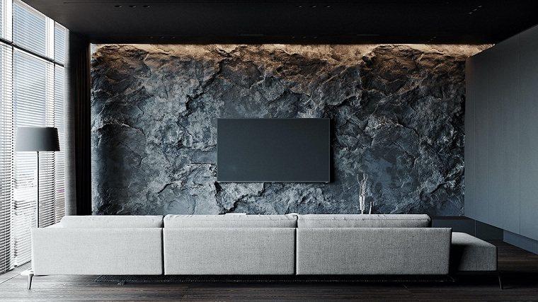 salon-moderno-pared-piedra