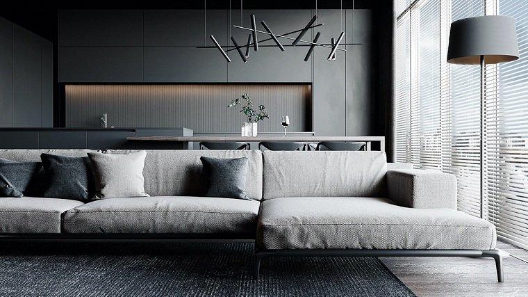 salon-negro-gris-ideas-originales-sofa