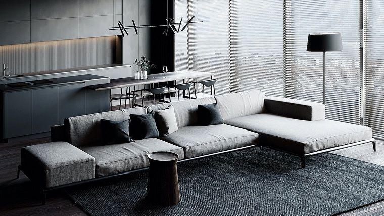salon-negro-gris-ideas-originales