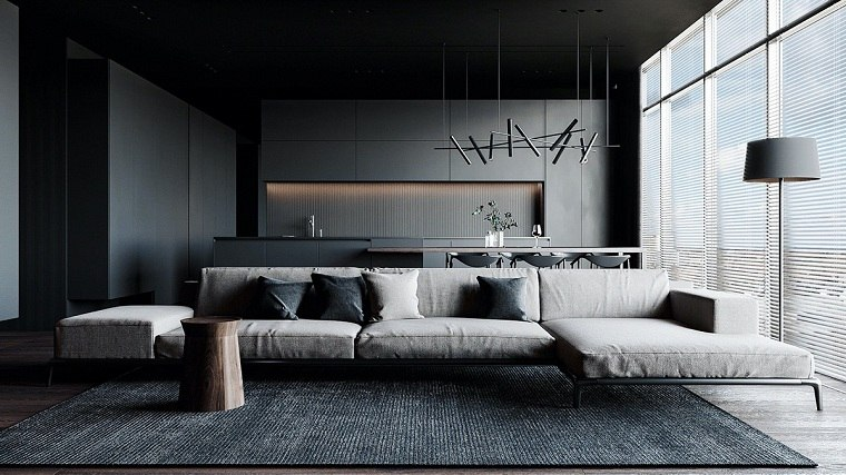 salon-negro-gris-ideas