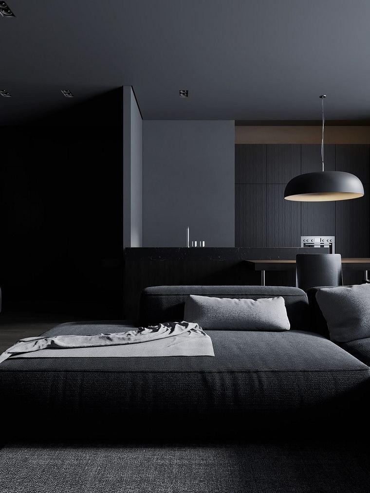 salon-negro-gris-sofa-modular-grande