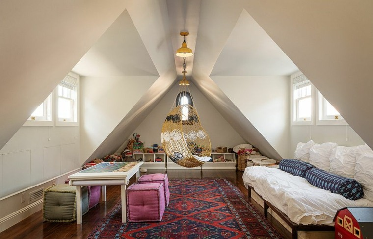 silla-colgante-habitacion-shabby-chic