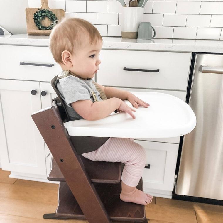 Silla de comer para bebe-consejos