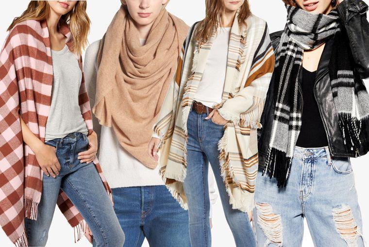 tipos de bufandas estilos