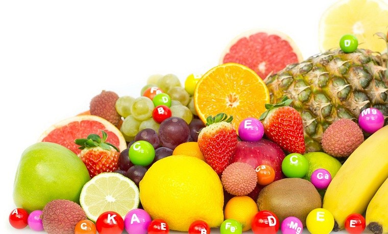 tipos de vitaminas-frutas