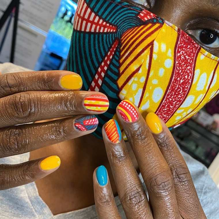 Uñas geométricas – Consejos para unos diseños de uñas de moda