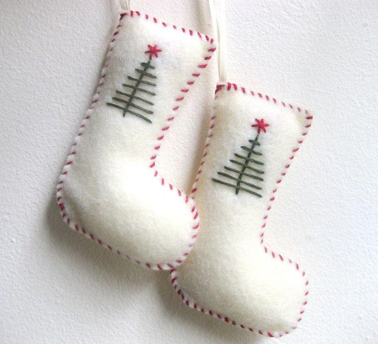adornos navideños originales calcetines