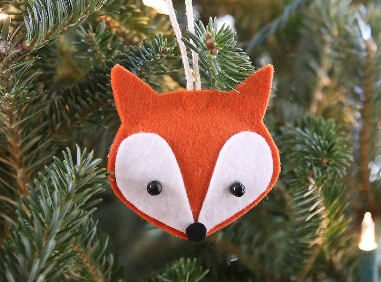 adornos navideños originales de animales