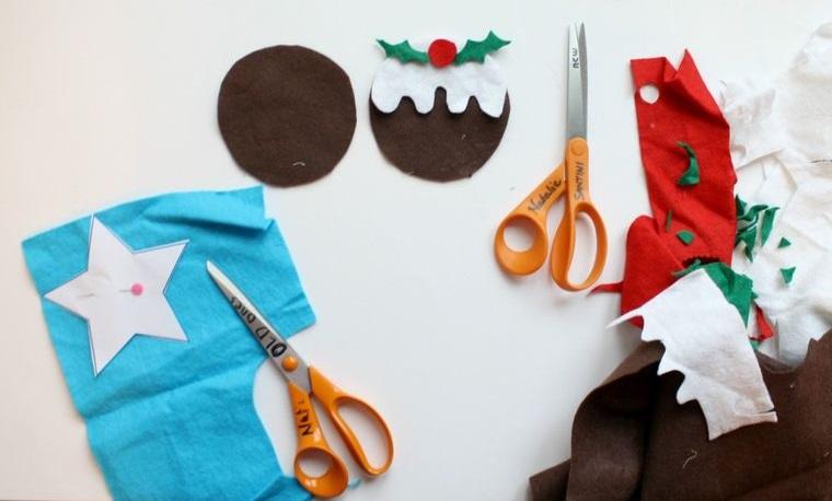 adornos navideños originales de bricolaje