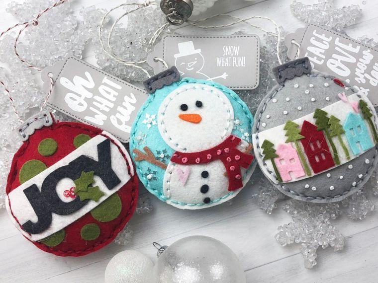 adornos navideños originales manualidades faciles