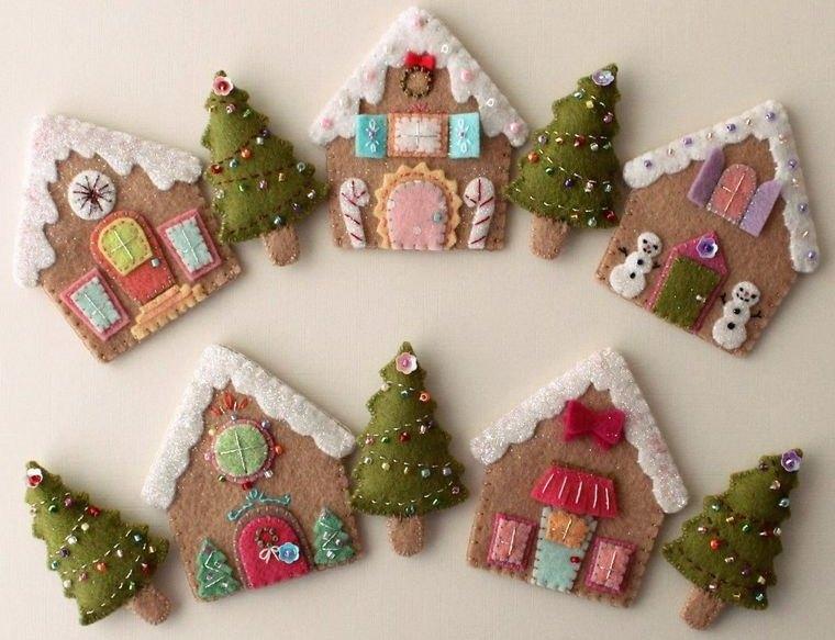 adornos navideños originales para pared