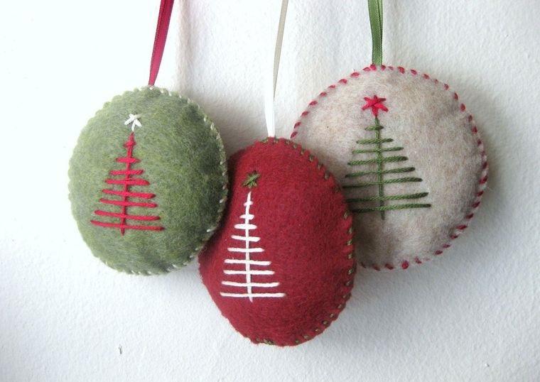 adornos navideños originales sencillos