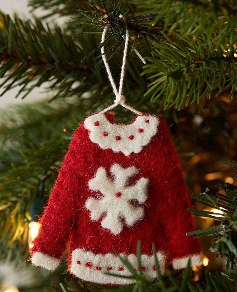 adornos navideños originales sueter