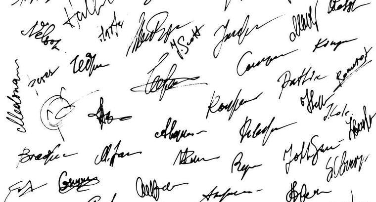 caligrafía analisis de firma