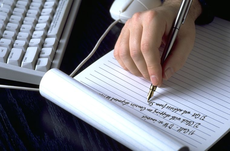 caligrafía escritura para analizar