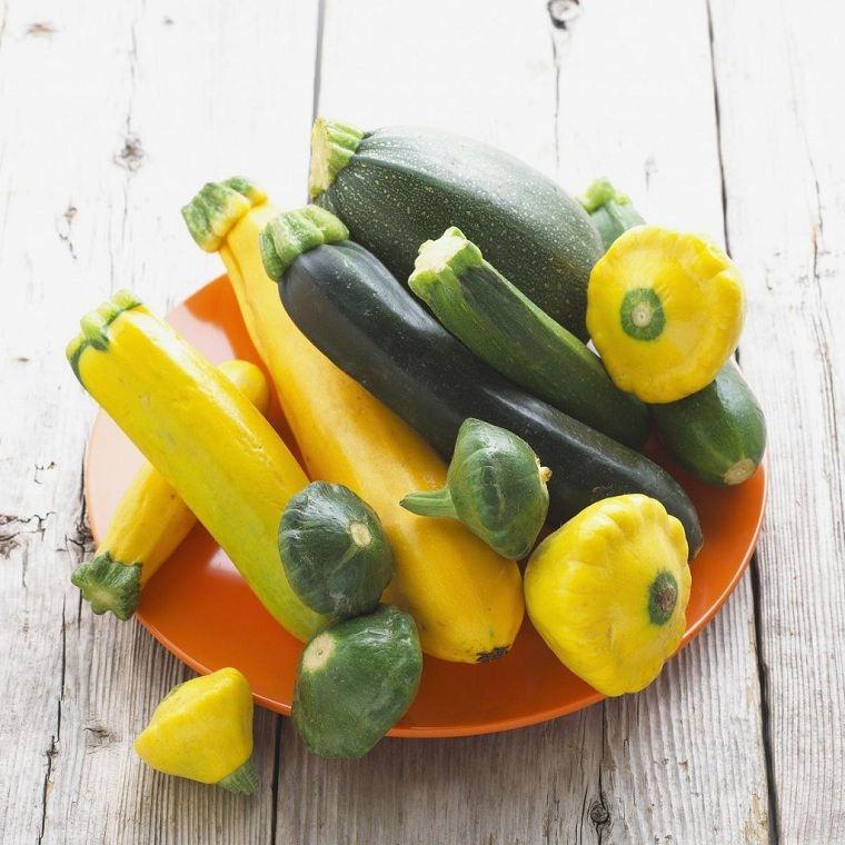 contar calorías -frutas-verduras-calabacin
