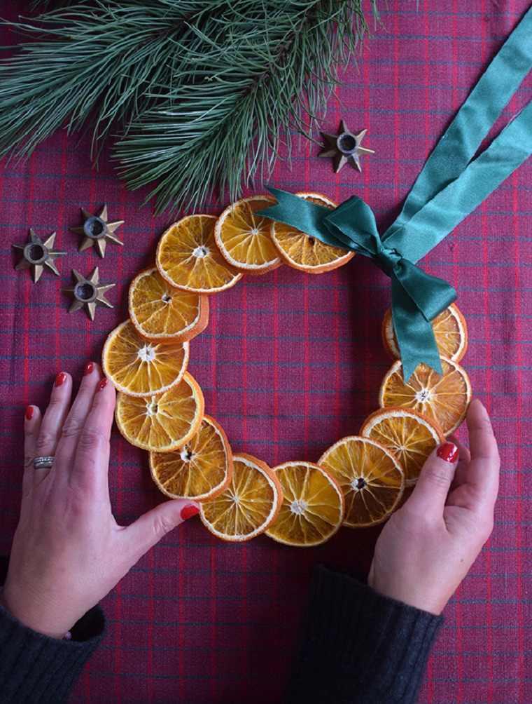 corona-pequena-naranjas-ideas