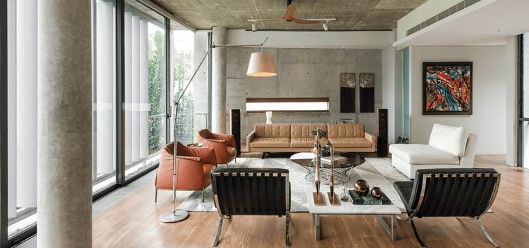 decoración de interiores amplio salon