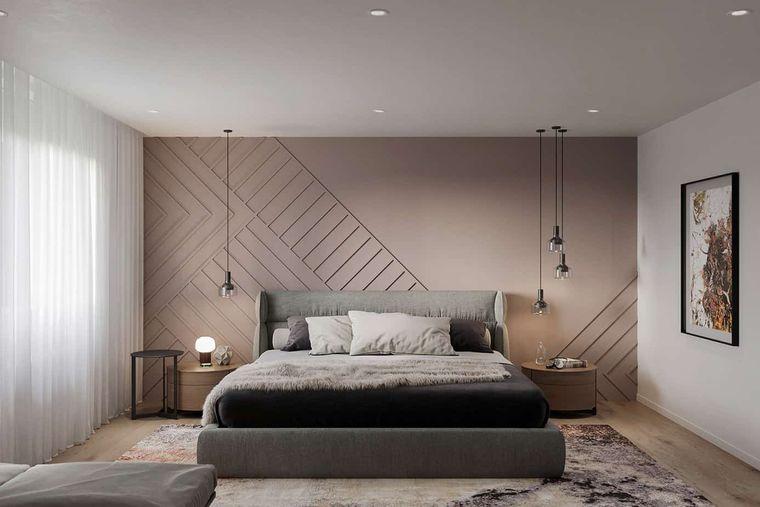 decoración de interiores en dormitorio