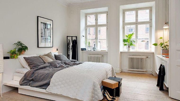 decoración de interiores pequeño dormitorio