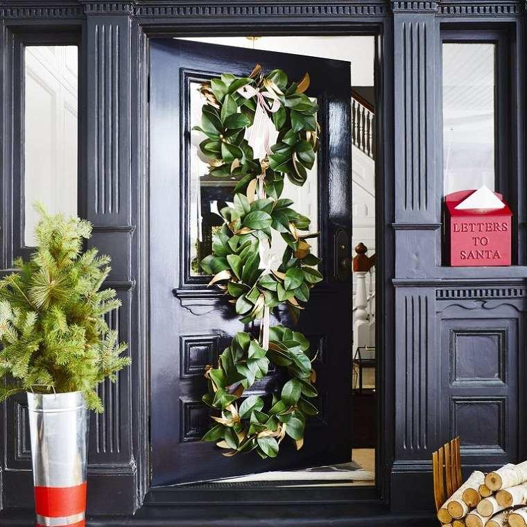 decoraciones-navidenas-para-puertas-magnolia